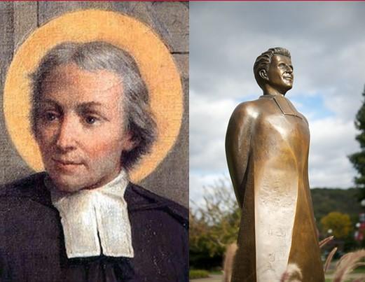 Founders La Salle and Heffron